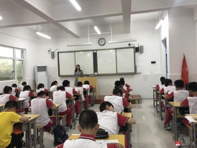永陽學校精心嚴密組織期末考試