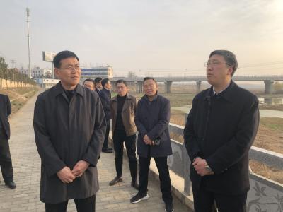 陈瑞峰到随县调研河长制落实情况和脱贫攻坚工作