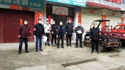 """新时代文明实践在随县——唐县镇抗""""疫""""志愿者 守卫家园""""防护墙"""""""