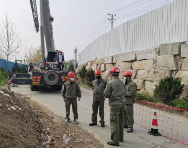随县首个电网建设复工项目顺利完工