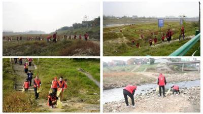 随县厉山镇红星社区下沉工作队开展集中志愿服务活动