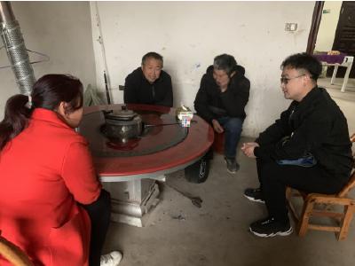 """""""望闻问切""""寻能人——殷店镇全力做好村""""两委""""换届前摸底工作"""