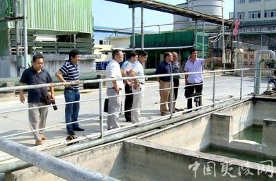 区政府督导中孚化工环境污染风险问题整改工作