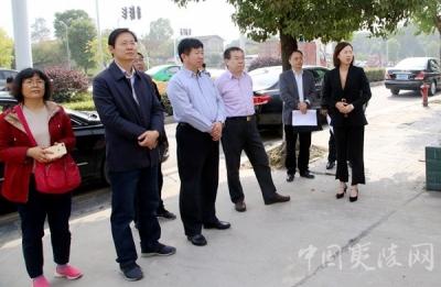 山东省寿光市政协考察组来夷陵区考察城市管理工作