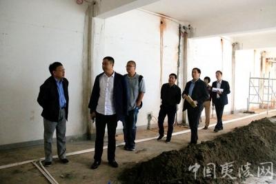 【区残联】上海市静安区残联来夷考察指导对口支援项目建设