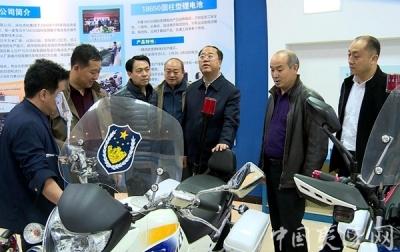 岢岚县考察团考察夷陵区经济社会发展情况
