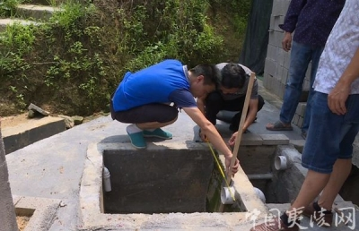 """三斗坪:小厕所大民生 让生活更有""""温度"""""""