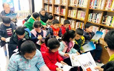 夷陵区图书馆:老少携手 践行生态环保