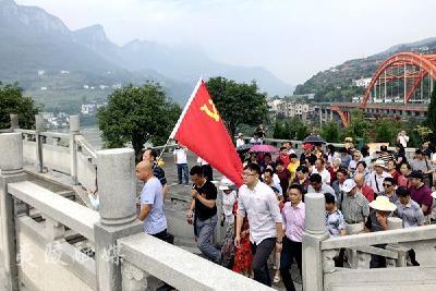 兴安社区开展纪念建党98周年活动