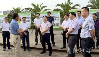 湖北省人大常委会调研组来夷调研黄柏河流域综合治理工作