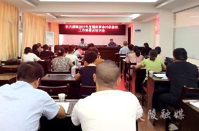 """乐天溪镇开展""""一标准、一规范""""厕所革命培训"""