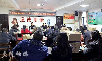"""乐天溪镇召开农村集体""""三资""""专项整治行动工作会议"""