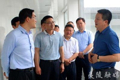 襄阳市南漳县考察团来夷考察茶产业发展