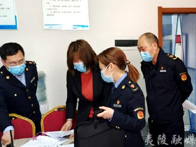 龙泉镇开展党史学习教育红色线路食品安全专项检查