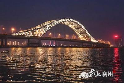 新六两河夜景