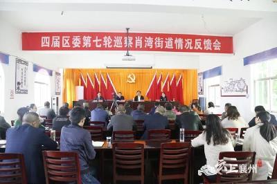 襄州区委第一、三、五巡察组反馈各镇(街)巡察情况