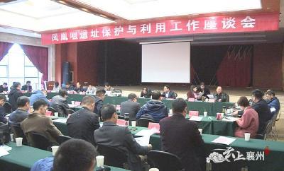 襄州区召开凤凰咀遗址保护与利用工作座谈会