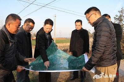 黄进:强化城乡水环境整治 建设水清山绿景美的襄州