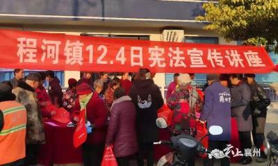 程河镇举办国家宪法日宣传活动