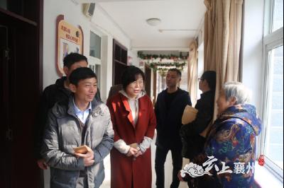 阳新县政协副主席到襄州区考察学习