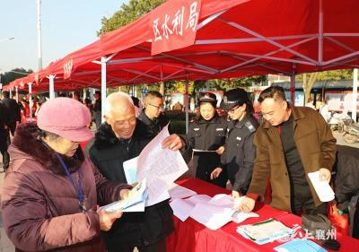 襄州区水利局积极开展国家宪法宣传周活动