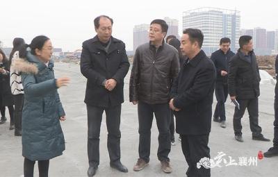 市发改委调研襄州区项目建设