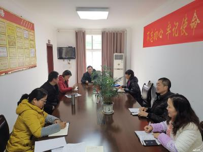襄州区委老干部局传达贯彻全区