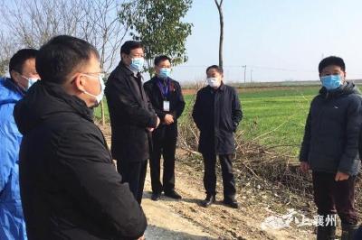 张丛玉到襄州区检查禽流感防控和非洲猪瘟防控工作