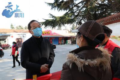 李乐成暗访城区疫情防控工作强调 切断疫情传播途径 确保不出现新病例