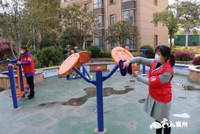 襄州掀起爱国卫生运动新热潮