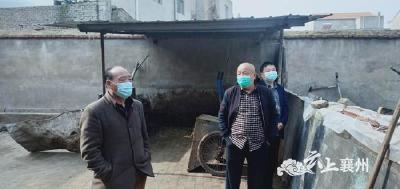 襄州区程河镇人大代表视察畜禽污染治理工作情况