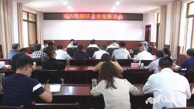 襄州区召开双沟镇辖区企业家座谈会