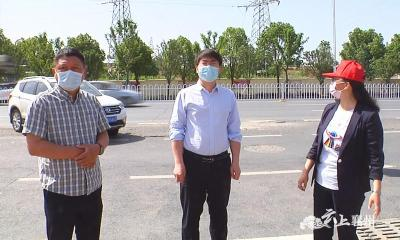 5月18日复学第一天  襄州区领导巡查初三情况