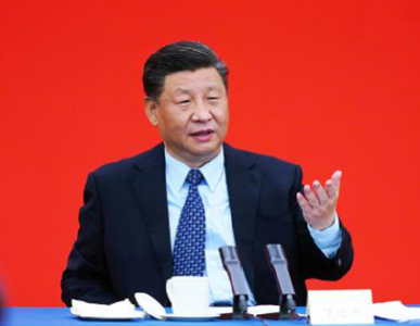 """联播+丨2020两会下团组 习近平给出中国经济发展之""""策"""""""