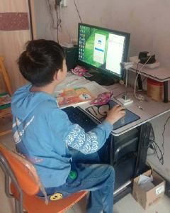 """襄州区龙王镇肖集小学:""""疫""""中网考,风景独好"""