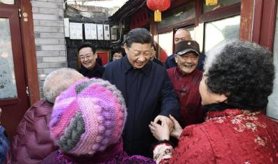 """新华社记者说丨习近平为人民""""干了大事"""""""