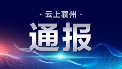 襄阳市境外返襄入襄人员有关情况通报(60)