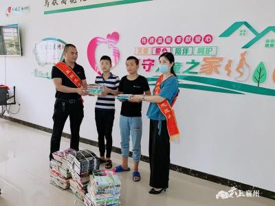 书香溢襄州 端午节图书流动来到双沟镇东王岗村