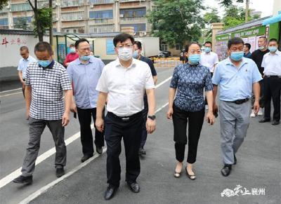 刘明锋:抓好老旧小区改造 提升居民幸福指数