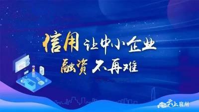 """襄州区""""信易贷""""平台推广应用成效显"""