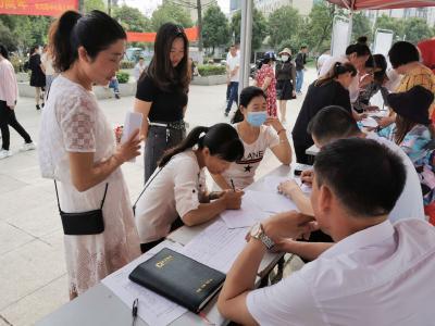 【我为群众办实事】服务企业就近招工 促进群众家门口就业