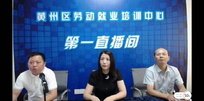 黄州区首期高校毕业生线上创业培训班开班
