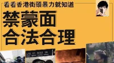 莫为暴徒壮胆,请与香港同行