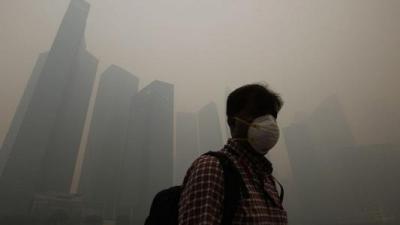 室外能见度低都是重污染惹的祸?