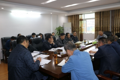 县财政局召开脱贫攻坚领导小组 工作部署第一次会议