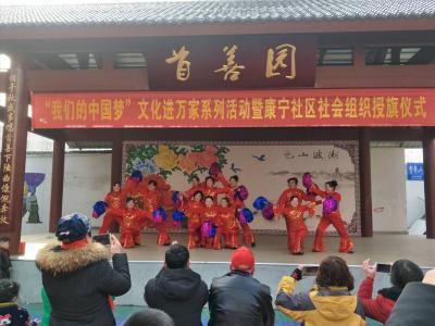 """康宁社区""""我们的中国梦文化进万家""""文艺演出热闹开演"""
