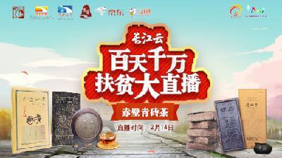 """赤壁青砖茶,穿越千年一""""泡""""而红!"""