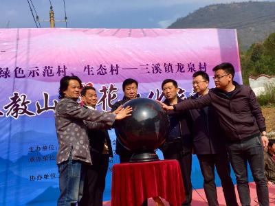 首届阳新三教山文化旅游樱花节开幕