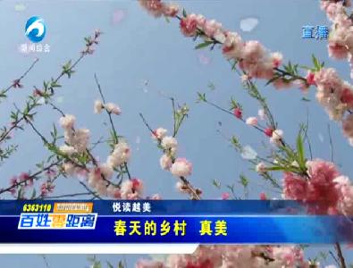 悦读越美:春天的乡村 真美