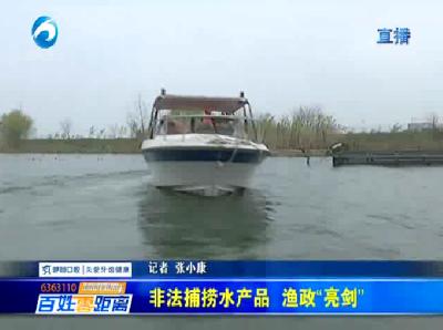 """非法捕捞水产品 渔政""""亮剑"""""""